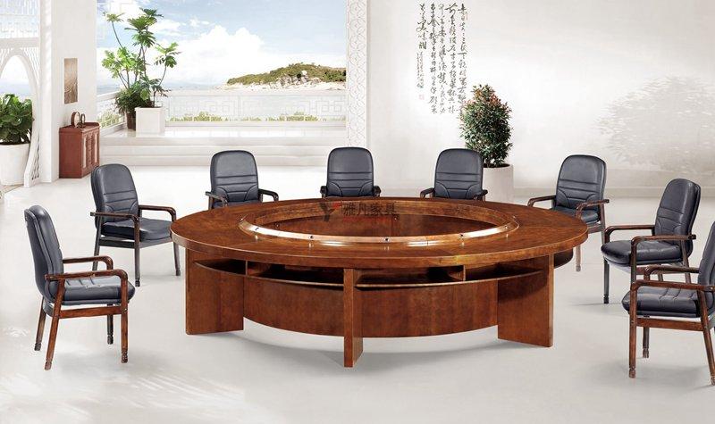 圓形實木會議桌
