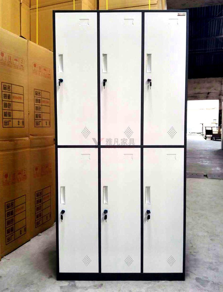 鋼制六門更衣柜