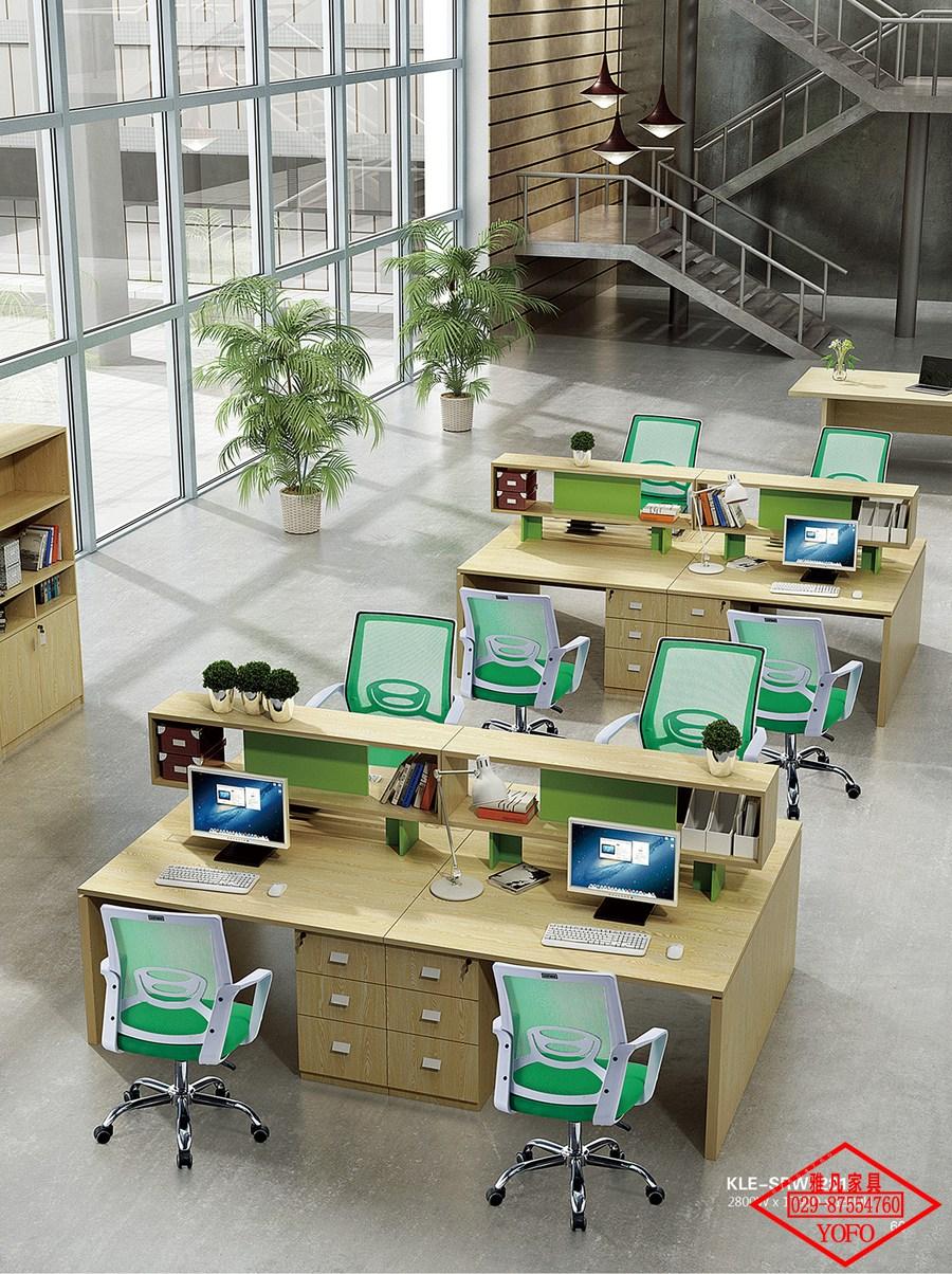 板式办公家具组合