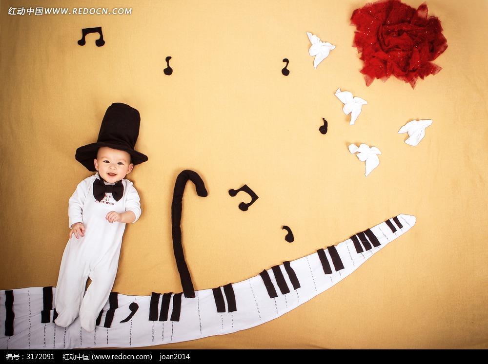 宝宝快乐钢琴!