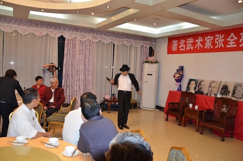 武术家张全亮和弟子李富山