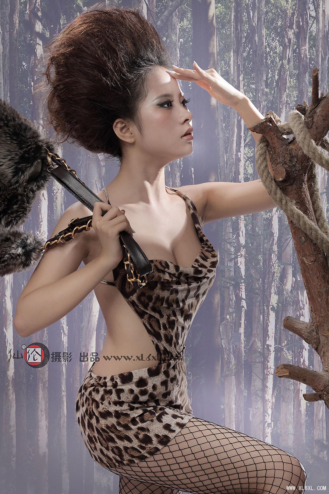 狂野之美驾驭豹纹元素