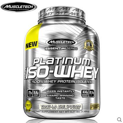 肌肉科技白金分离蛋白3.3磅