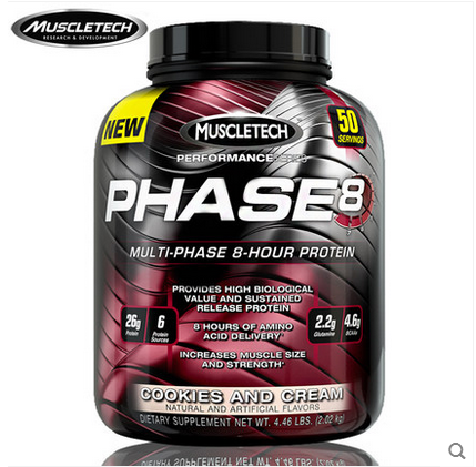 肌肉科技高性能缓释蛋白粉4.4