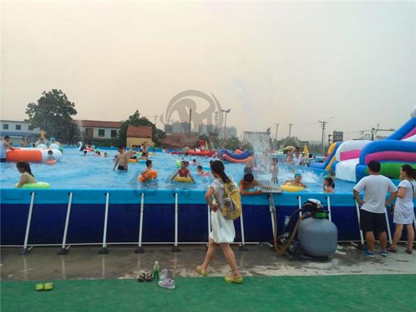 山东邹平客户水上乐园使用现场