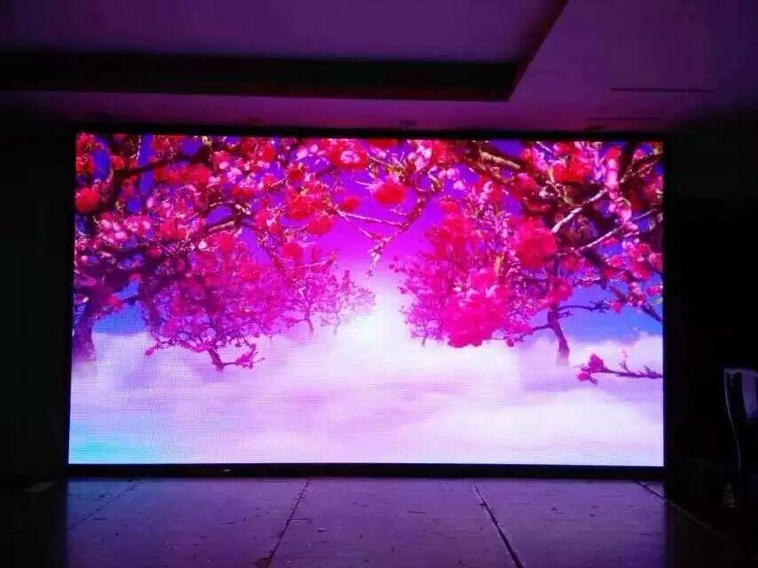 室内P4全彩高清LED显示屏