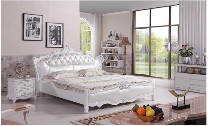 欧式太子床 卧室家具双人床1.8m